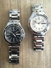 SWATCH Irony Stainless Steel Two Pack, vintage Military Style Swiss Watches