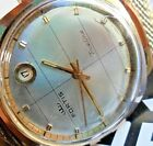 GREAT DIAL 1970's Men's Fortis True Line Date @ 1 Automatic Swiss Watch Runs