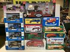 Lot Of 15 New Sealed Vintage Die Cast Truck Banks Gas Oil Amoco Texaco Castrol f