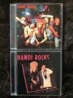HANOI ROCKS 2 x CDs. Back to Mystery City & Oriental Beat. Excellent.