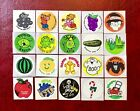 Vintage Mixed Matte 80S Scratch And Sniff Sticker Lot