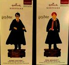 Harry Potter Ron Weasley Set Of 2 Storytellers 2019 Hallmark Ornaments