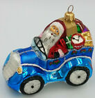 Christopher Radko Santa Ornament 1997 COMIN TO TOWN BLUE 6