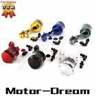 Motorcycle CNC Brake Clutch Master Cylinder Fluid Reservoir Tank Oil Cup Bracket