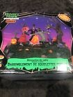 Lemax Town Halloween Village Skeleton Jamboree Table Accent Animated W/o Cord