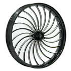 Ryd Wheels Volt Starkline Black 23 x 375 Front Wheel 2000 2020 Harley Touring