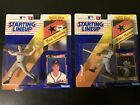 Lot Of (2) 1992 Starting Lineup Action Figures Tom  Glavine And Tony Gwynn