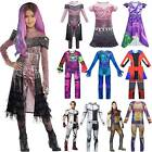 Kids Descendants 3 Mal Evil Carlos Christmas Costume Jumpsuit Fancy Dress Outfit
