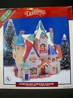 Lemax 1994 Dickensvale Santa's Workshop Village Porcelain Lighted House 35092