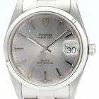 Polished TUDOR Prince Oyster Date Steel Automatic Mens Watch 74000N BF503202