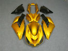 MSA Fit for Kawasaki 06-11 ZX14R ZZR1400 ABS Gold Color Injection Fairing l002