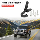 Rear Bumper Trailer Tow Hitch Hook Black for Jeep Wrangler JL & Unlimited 2018+
