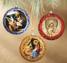 Christmas Ornaments Decorations Nativity Scenes Virgin Mary Christ DONT BRAKE
