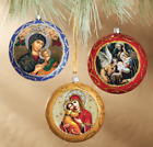 Christmas Ornaments Decorations Nativity of Christ Icon Perpetual Help Gift