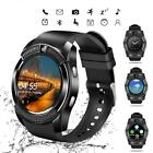Smart Watch New V8 W GSM SMS Touch Screen Sports Pedometer Camera F Android