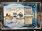 2019 Leaf CAL RIPKEN JR ALEX RODRIGUEZ In The Game Used Jersey Bat AUTO 12 15