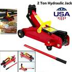 2 Ton Aluminum Steel Low Profile Floor Jack Racing Car Rapid Pump Lift US
