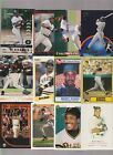 BARRY BONDS 12 DIFFERENT PREMIUM CARD LOT GIANTS GREAT WITH 1987 TOPPS ROOKIE