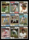 LOT OF 565 DIFFERENT 1974 TOPPS BASEBALL CARDS PARTIAL SET VGEX GMCARDS