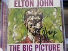 ELTON JOHN Hand Signed CD 'The Big Picture'' DEDICATED TO PAUL