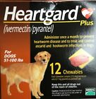 6 Gard Chewables 51 100lbs Exp 01 22 Heart NOT 12 Chewables
