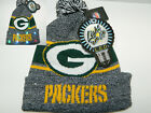 Green Bay Packers Winter Cap Hat cuffed Knit NFL LED Light Up Pom Beanie forever