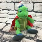 Ty Tuck Wonder Pets Turtle Beanie Plush Stuffed TV Charactor Toy Viocom 2009