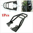 Black Motorcycle Rear Shelf Refitted Box Tail Seat Luggage Rack Strong Structure