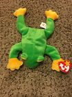 Ty Beanie Baby Smoochy the Frog DOB October 1, 1997 MWMT