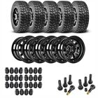 JEGS 681010K55 Jeep Wheel and Tire Kit 1987 2006 Wrangler YJ TJ 1984 2001 Cherok