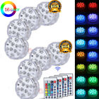 8X Swimming Pool Light RGB LED Bulb Underwater Color Vase Decor Lights