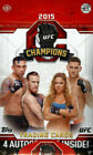 2015 TOPPS UFC CHAMPIONS HOBBY BOX NEW FACTORY SEALED-4 AUTOGRAPHS