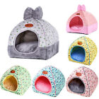 Winter Folding Small Pet Cat Dog Warm Bed Tent Triangle Kennel Cave Sleep Bed