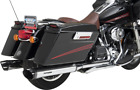 PYTHON 4 RAYZER EXHAUST SLIP ON MUFFLERS HARLEY ELECTRA GLIDE ROAD KING STREET