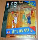 1999 Keith VanHorn NBA Super Stars College & Pro Basketball Action Fig Utah/Nets