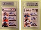 Prime Signatures Pen Pals Autograph 6 Auto Luck Russell Wilson BGS 9 ROOKIE