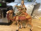 fontanini nativity 75 1983 Heirloom Collecton Wiseman On Camel
