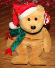 Retired Ty Beanie Babies, 2003 Holiday Teddy (P.E. Pellets) December 25, 2003