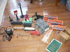 Antique Lionel Train Set Locomotive Transformer Whistle Tender & Several Cars +