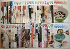 Lot of 65 Weight Watchers Weekly Weeklies Magazine Recipes Tips 2011 2016