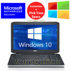 DELL LAPTOP LATiTUDE CORE 4GB 8GB 250GB 1TB HD SSD 156 DVD WINDOWS 10 WiFi PC