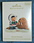 2011 Hallmark Christmas Ornament ~ FROSTY FRIENDS ~ #32 in Series~Walrus~ MIB
