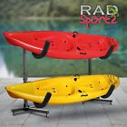 RAD Sportz 1006 Deluxe Freestanding Heavy Duty Kayak Rack Two Kayak Storage