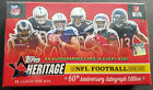 2015 Topps Heritage Football Box Nfl Special 60th Annivers 1 Autograph per Box