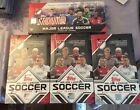 2018 TOPPS MLS SOCCER HOBBY BOX LOT (3) & 2017 TOPPS STADIUM CLUB HOBBY BOX (1)