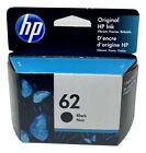 HP 62 Ink Cartridge Black NEW Genuine