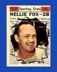 Nellie Fox Cards and Autographed Memorabilia Guide 10