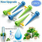 12 Pcs Watering Spikes Device Automatic Plants Self Water Drip Irrigation System