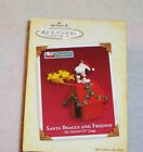 Hallmark 2005 SANTA BEAGLE AND FRIENDS Snoopy Keepsake Ornament NEW