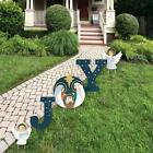 YARD SIGN Big Dot of Happiness Holy Nativity Outdoor Lawn Manger Decorations